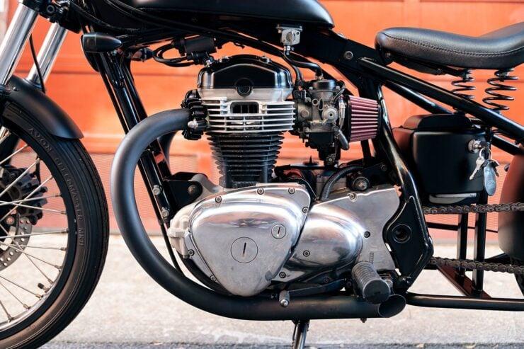 Kawasaki W650 Bobber 7