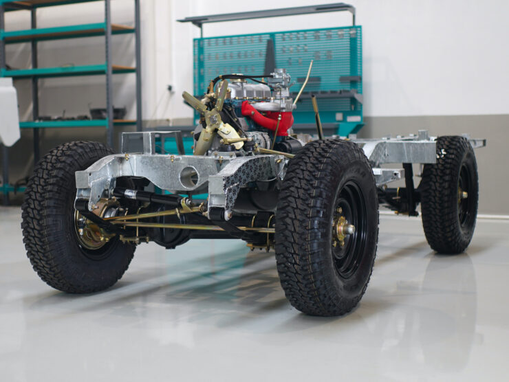 Land Rover Chassis
