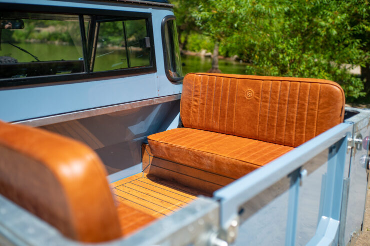 Land Rover Series 3 Back Seats