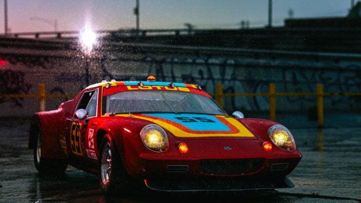 Lotus Europa Road Race Car 11
