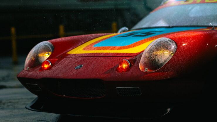 Lotus Europa Road Race Car 7