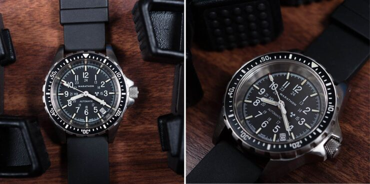 Marathon MSAR Automatic Military Dive Watch Desk