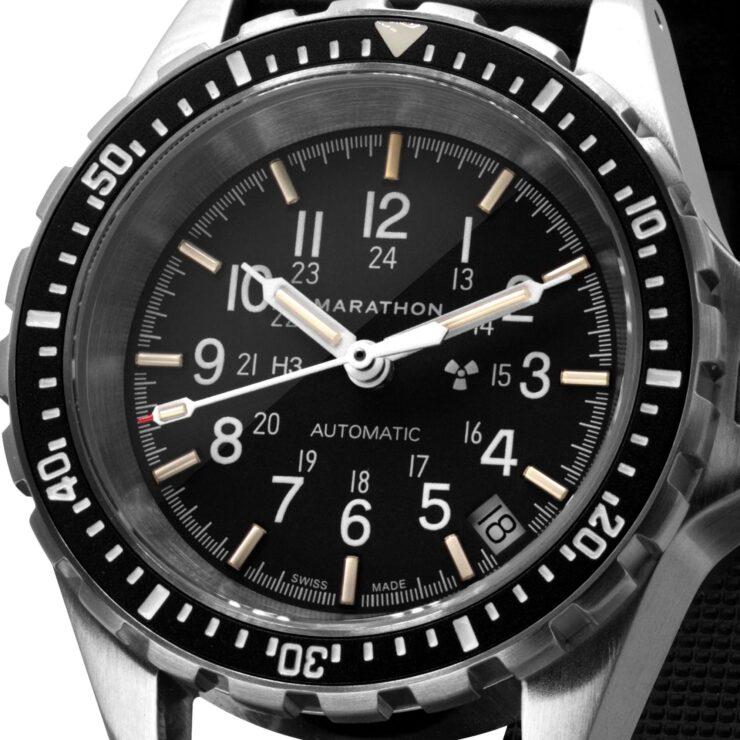 Marathon MSAR Automatic Military Dive Watch Face