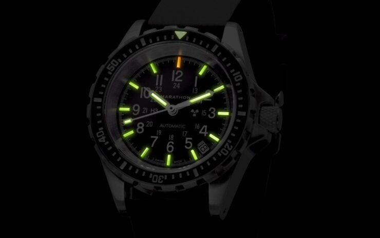 Marathon MSAR Automatic Military Dive Watch Night