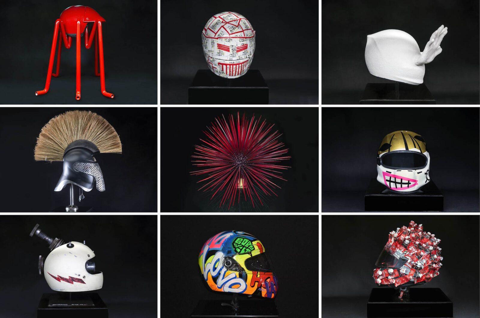 Monaco Art Helmets