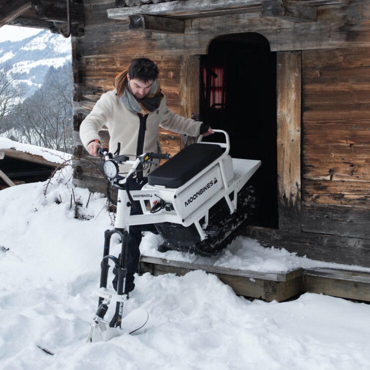 MoonBikes Electric Snow Bike 3