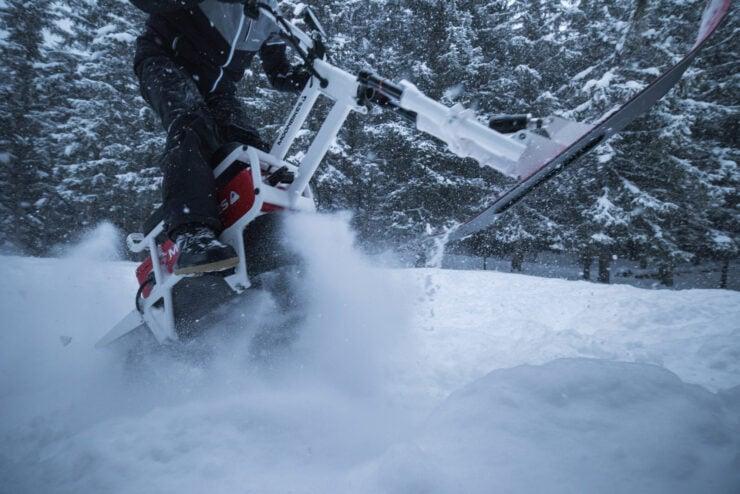 MoonBikes Electric Snow Bike 5