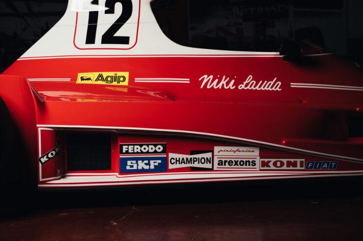 Niki Lauda Ferrari 312T Formula 1 Car 14