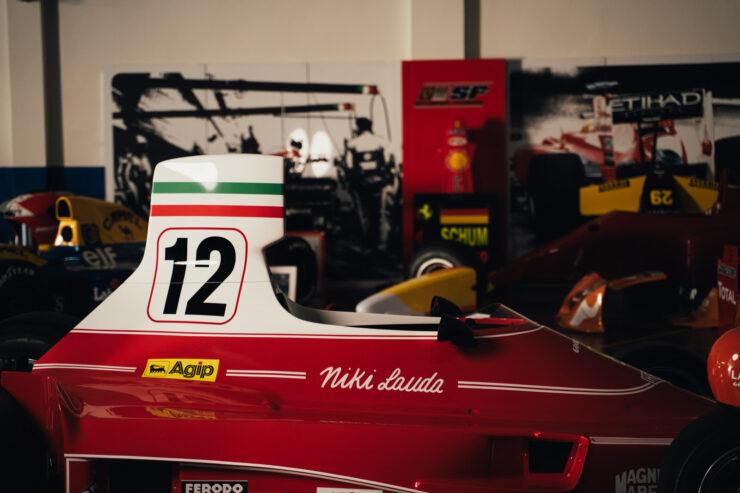 Niki Lauda Ferrari 312T Formula 1 Car 2