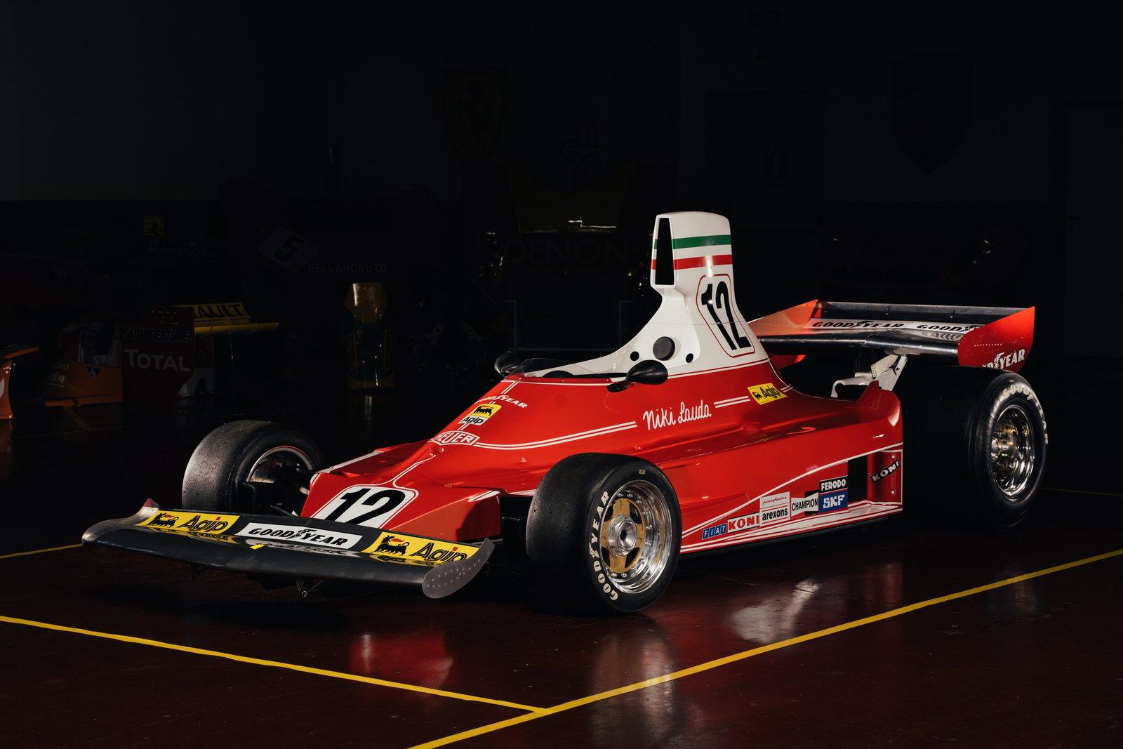 Niki Lauda Ferrari 312T Formula 1 Car 4