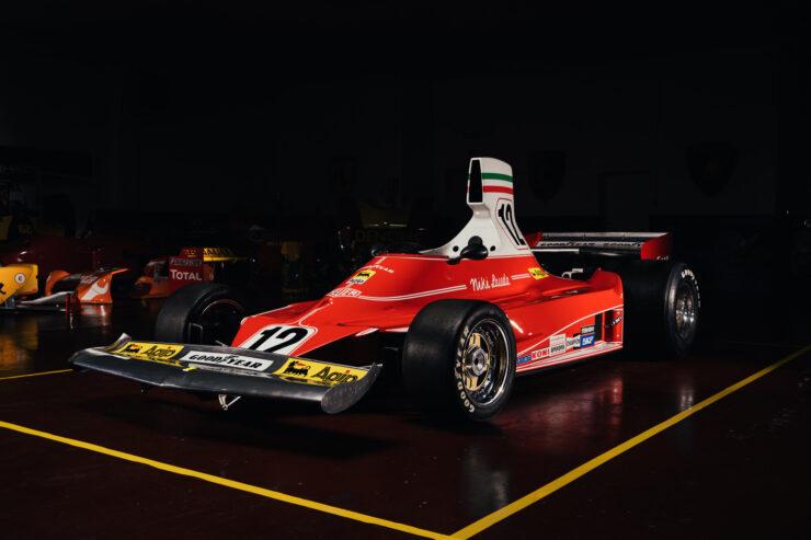 Niki Lauda Ferrari 312T Formula 1 Car