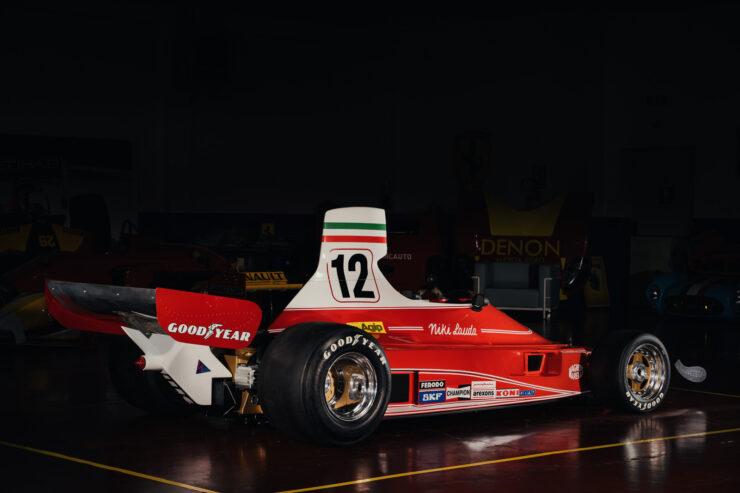Niki Lauda Ferrari 312T Formula 1 Car 8