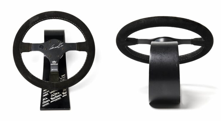 Niki Lauda McLaren MP4 Steering Wheels