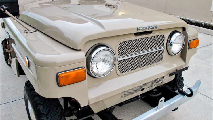 Nissan Patrol G60 8