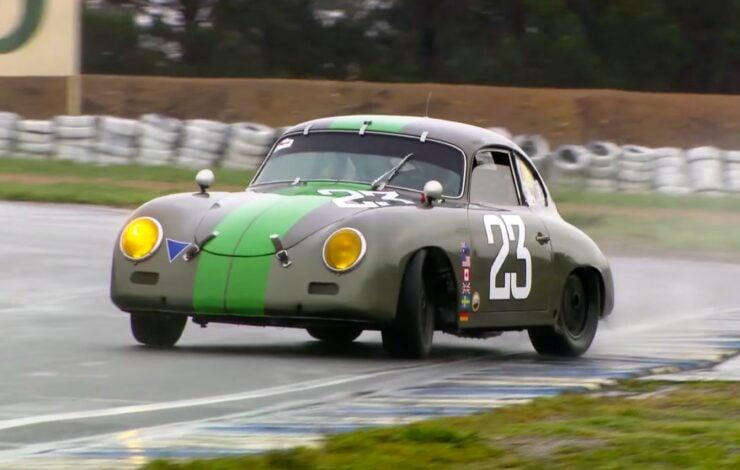 Porsche 356 Drifting