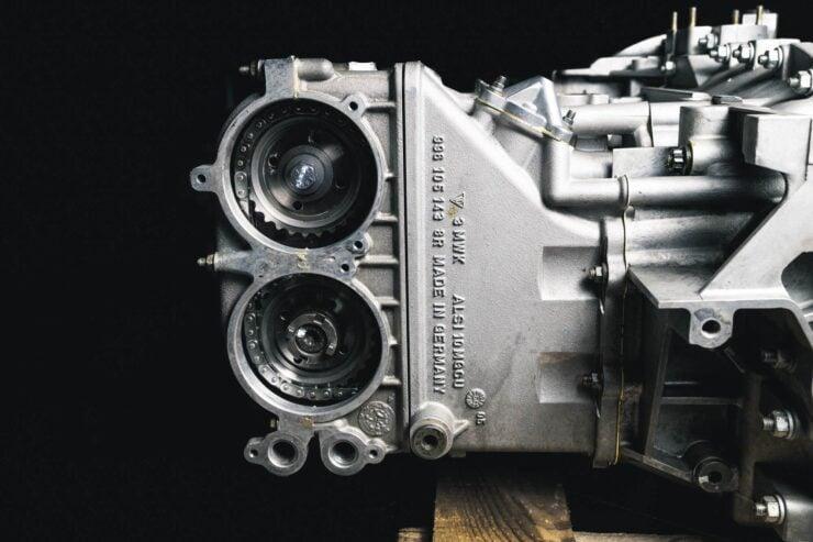 Porsche 911 996 GT3 R Engine And Gearbox 3