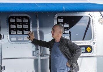 Tom Hanks Airstream Model 34