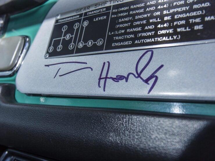 Tom Hanks Toyota FJ40 Land Cruiser 15