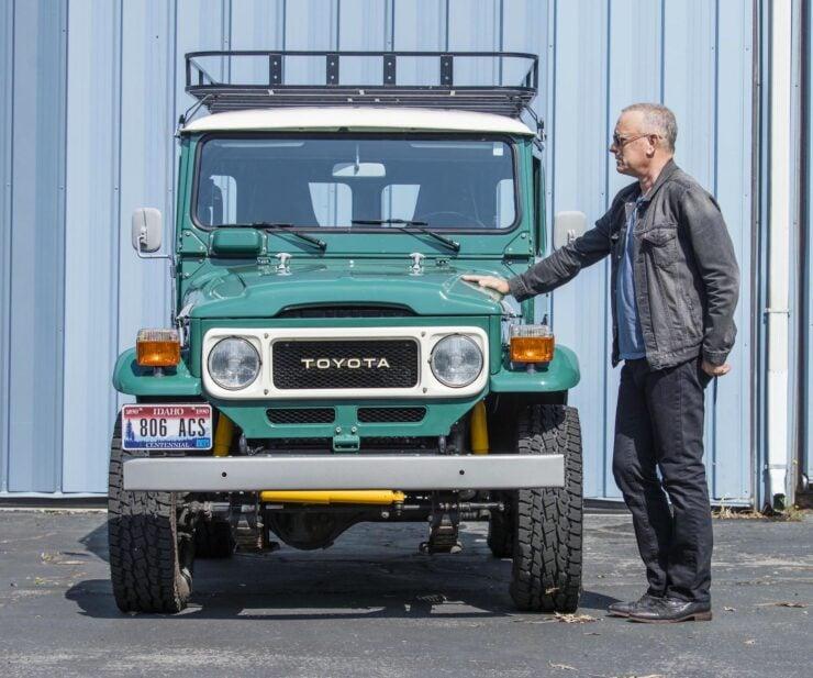 Tom Hanks Toyota FJ40 Land Cruiser 2