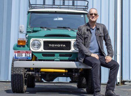Tom Hanks Toyota FJ40 Land Cruiser