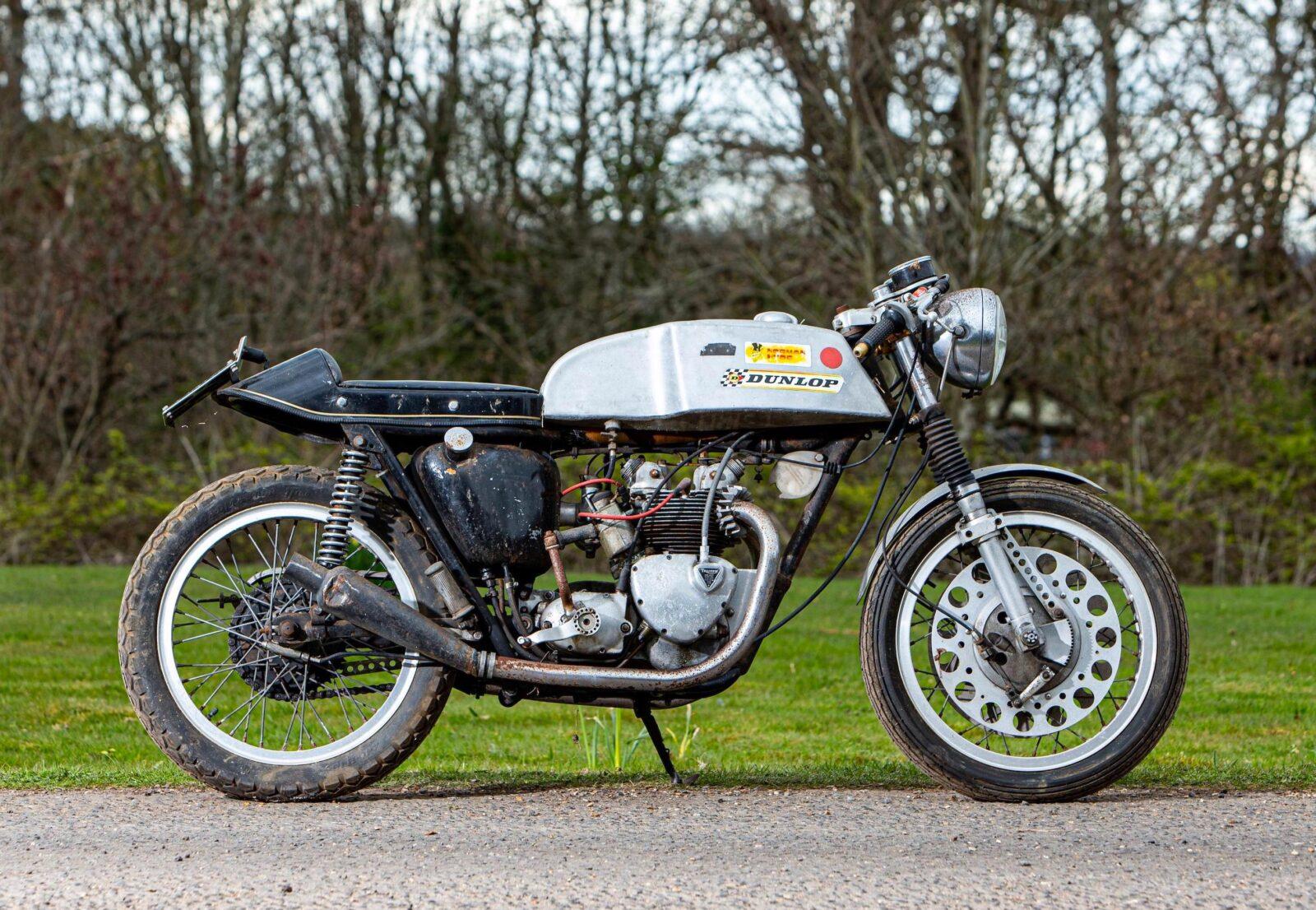 Triumph T100SS Cafe Racer