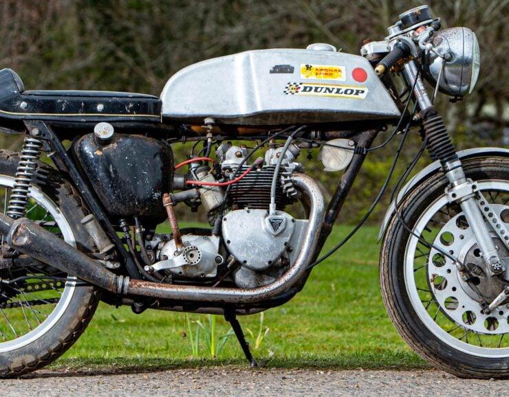 Triumph T100SS Cafe Racer 4