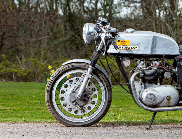 Triumph T100SS Cafe Racer 7