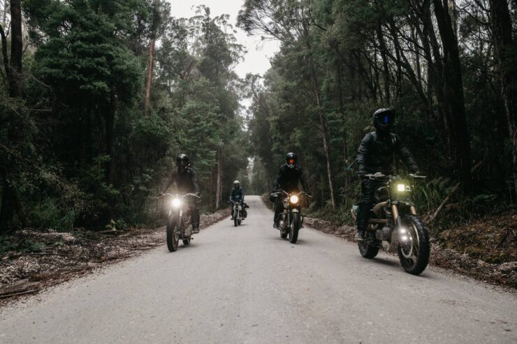 Wide Of The Mark Film Motorcycle Riding In Tasmania 1