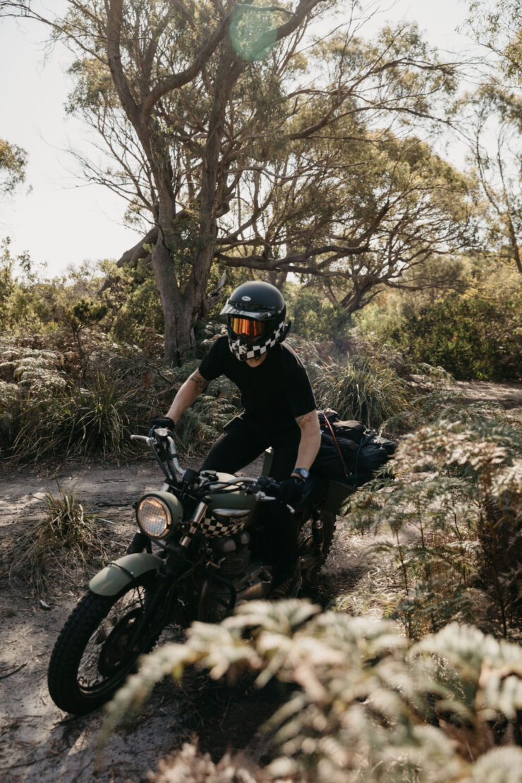 Wide Of The Mark Film Motorcycle Riding In Tasmania 14