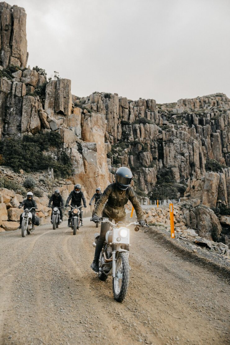 Wide Of The Mark Film Motorcycle Riding In Tasmania 9