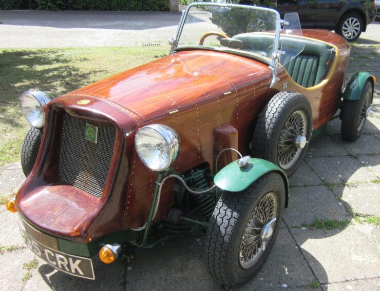 Wooden-Bodied Triumph Spitfire 1