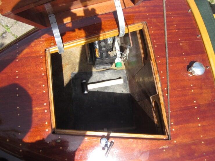 Wooden-Bodied Triumph Spitfire 10