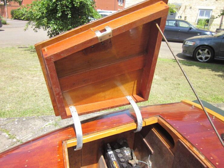 Wooden-Bodied Triumph Spitfire 11