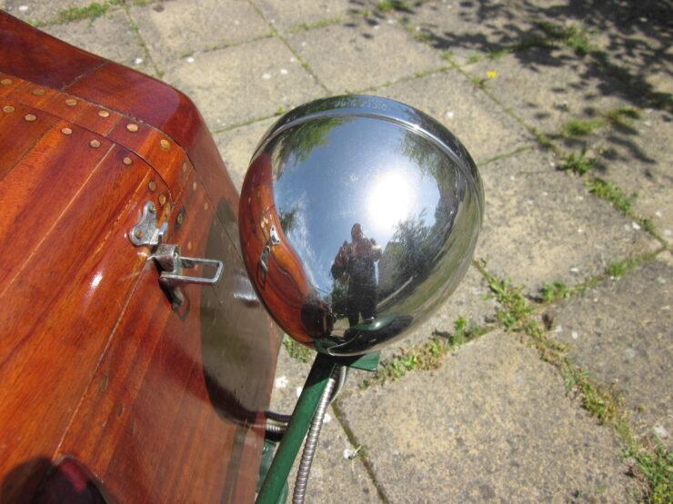 Wooden-Bodied Triumph Spitfire 12