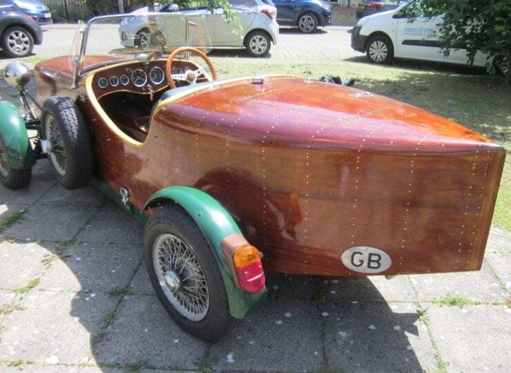 Wooden-Bodied Triumph Spitfire 13