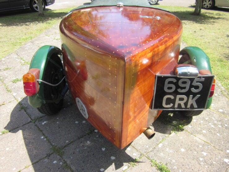 Wooden-Bodied Triumph Spitfire 14