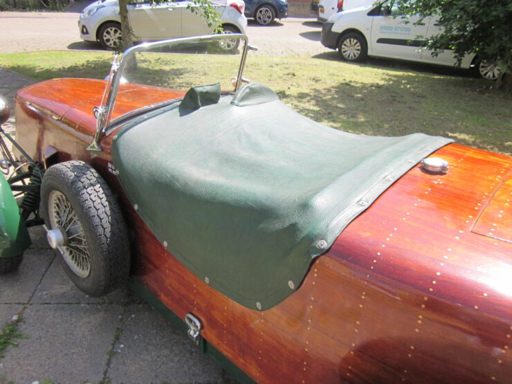 Wooden-Bodied Triumph Spitfire 2