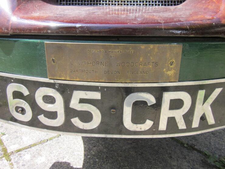 Wooden-Bodied Triumph Spitfire 3
