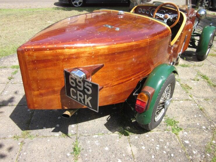 Wooden-Bodied Triumph Spitfire 4