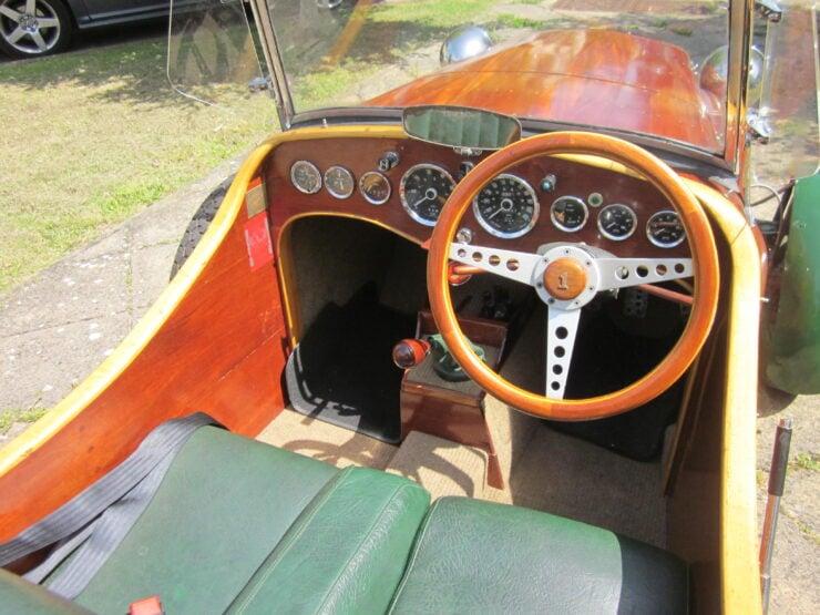 Wooden-Bodied Triumph Spitfire 5