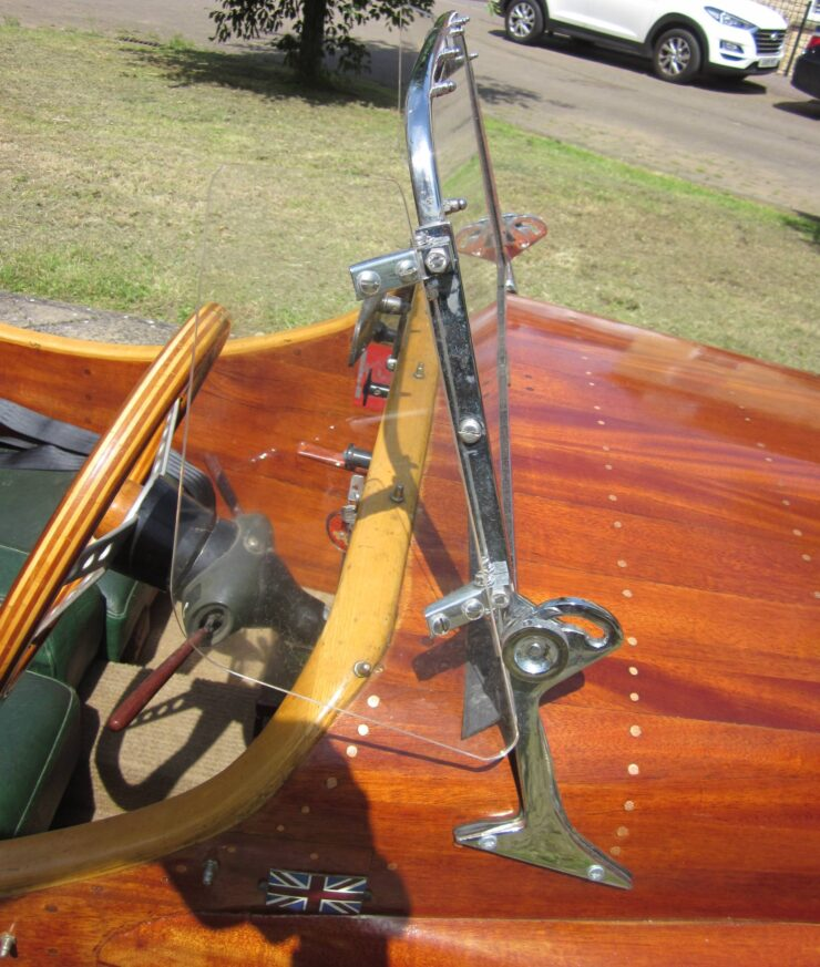 Wooden-Bodied Triumph Spitfire 6
