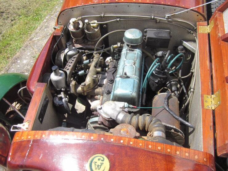 Wooden-Bodied Triumph Spitfire 7