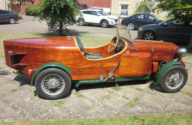 Wooden-Bodied Triumph Spitfire 8