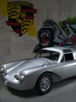 THIS IS THE ONLY GLÖCKLER-PORSCHE 356 CARRERA 1500 COUPE EVER BUILT