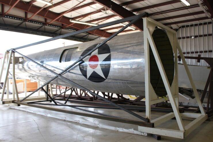 B-17E fuselage