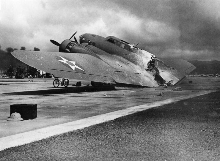Boeing B-17C Flying Fortress