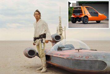Bond Bug Star Wars Landspeeder