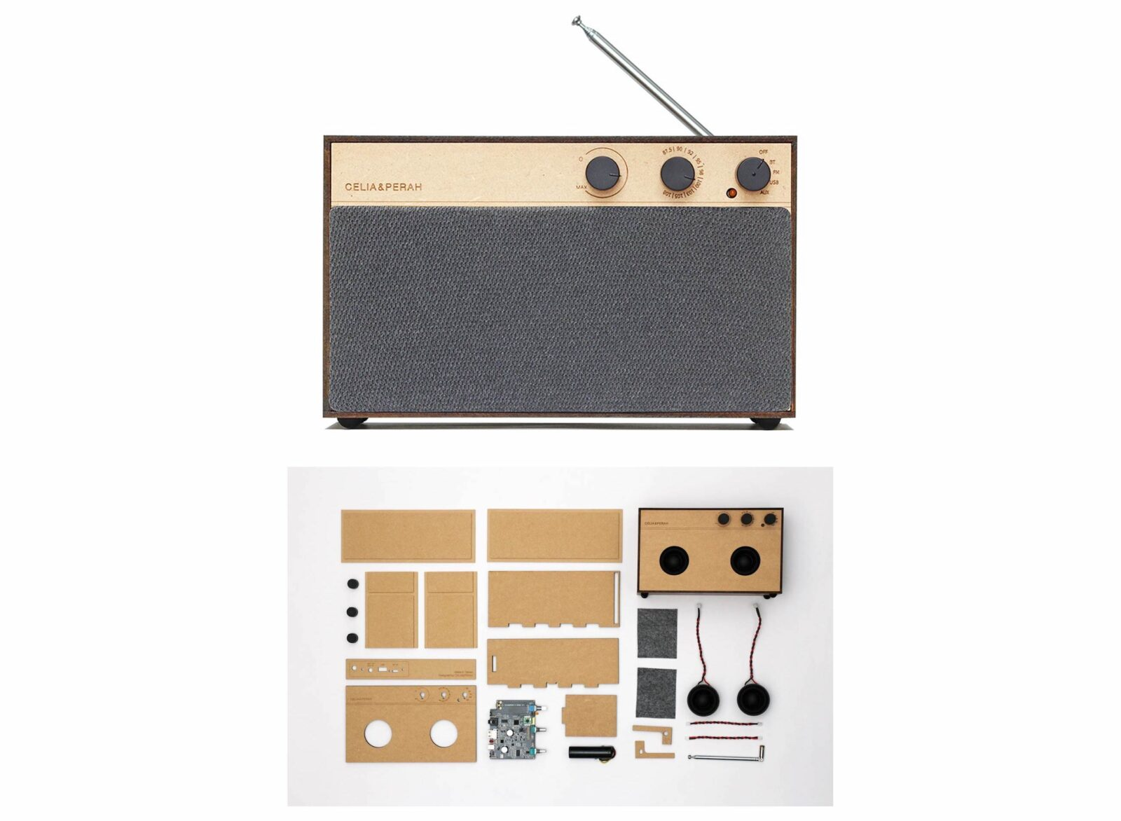 Celia & Perah Kit Bluetooth DIY Speaker