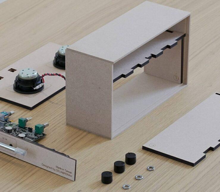 Celia & Perah Kit Bluetooth DIY Speaker 3