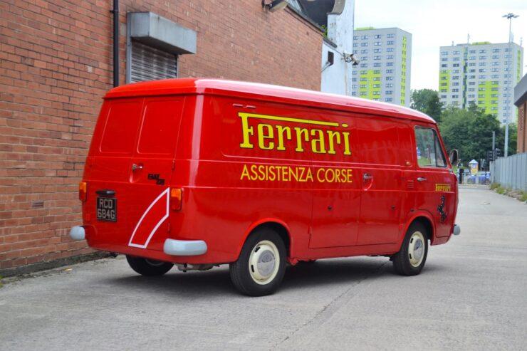Fiat 238 Ferrari Van 11